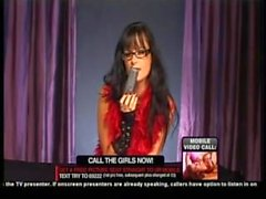 Toya In Glasses & Feather Boa On Babestation, Part 3