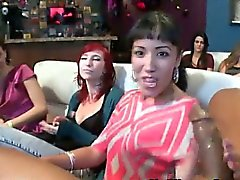 Real amateur cfnm blowjob party