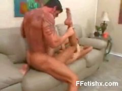 Tempting Foot Fetish Teen Hungry Makeout