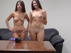 Melanie & Natalee double down on a cock