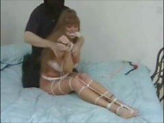 Darla Crane tied and gagged