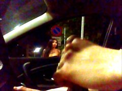 Car Flash Beauty tranny wants 30 euro