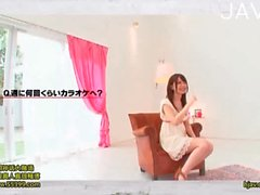 Small Boobed Japanese Babe Stripping
