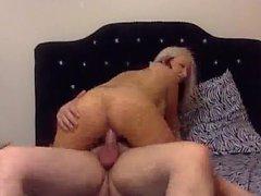 Tattooed Pregnant Blonde Get Creampie