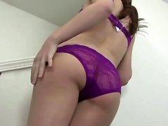 Hot babe gets a big black cock