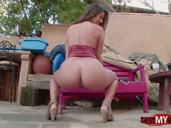 Brunette pornstar hardcore with ass cumshot