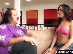 Ron Jeremy might be an old pervert by now, but his massive