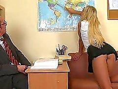 Ilahduttavia kaksi horny opettajia