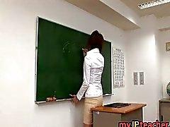 Hete Japanse leraar