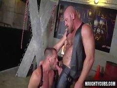 Hairy Homosexuell Anal Rimming und Cumshot