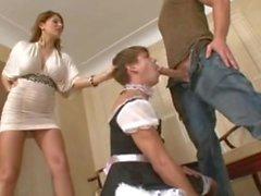 hanımevladı hizmetçi aldatmak
