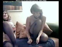 German Lesbian Slave On Cam
