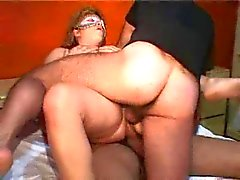 Mature Italian wife's threesome
