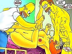 Simpsons hentai partouze