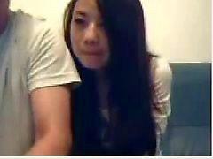 Китайская парой Mess Around С веб-камера