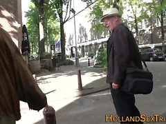 Hooker licked by old dude