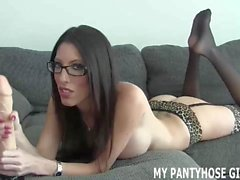 My pantyhose will drive you wild JOI