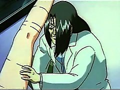 Tied up hentai sex slave gets pussy licked and nailed hard