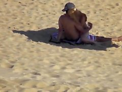 Caught this couple at the beach