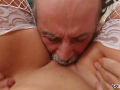 Alanah Rae - Dirty Old Man Lucks Out