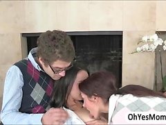 Teacher Ava makes out with her students