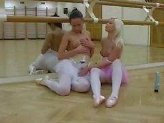 ballerine di lesbici di Russo