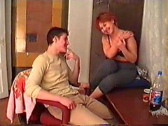 Betrunkene Mamma und Sohn mit der Vater Verfilmungen