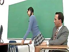 Lyx barnvakt och hennes kåta lärare