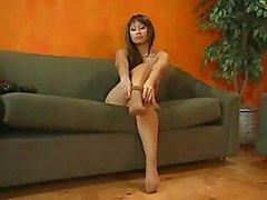 Beautiful sexy pentyhose & fingering