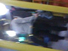 hottie in the bus in copacabana gata no onibus em copacabana