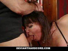DeviantHardcore - Submissive Milf Dana Dearmod Handcuffed and Dominated