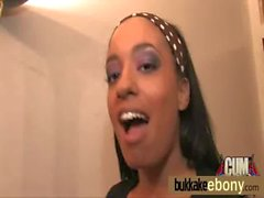 Ebony gangbanged interracial 9