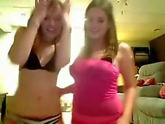 Two teen amateur lesbians do naughty stuff