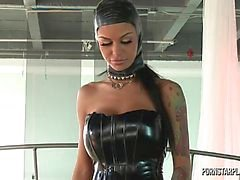 Angelina valentin på Domination Veronica