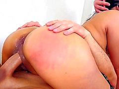 Annie Cruz - YENİ ASYA DP HARDCORE! ANAL! ÇİFT ANAL! ANAL CREAMPIE! HD Porno Videoları