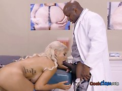 Sexy Patient Bridgette B Blows Big Cock Of Doctor