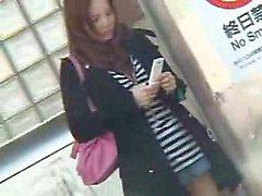 Japanische Frau wurde gerade gefickt und geht dann auf eine excursio
