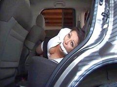 Jewell marceau in car