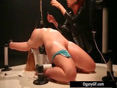 Sexy blonde steamy honey adicted to bdsm