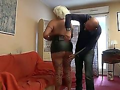 Joyce a French Bbw mature who loves anal