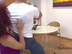 Tu Venganza - Bubble butt in close up of redhead Latina during revenge fuck