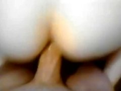 Big ass amateur girlfriend anal try out and cum facialed