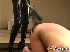 Sexy Japanese Dominatrix