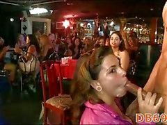 Party girl was fucked in mouth