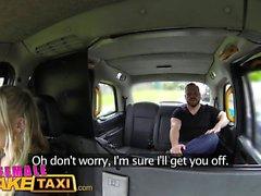 Female Fake Taxi Hot milf cabbie fucks lawyer