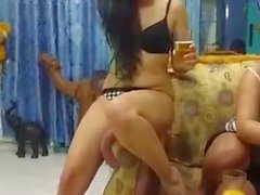 Hot Arabic Party Dancing With Her ASS