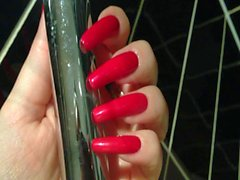 The most beautiful long nails in the world