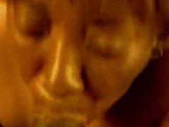 66 year old black granny head