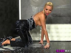 Glam ho fake cum drenched