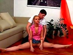 contortion sex with a real flexi doll